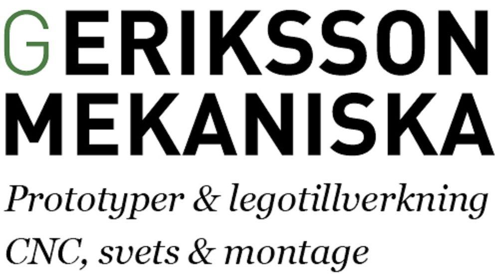 G. Eriksson Mekaniska
